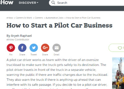 pilot car driver jobs colorado